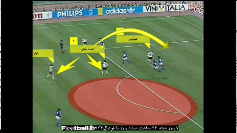 رختکن: آنالیز تاکتیکی فینال جام جهانی ۱۹۹۰ – آلمان غربی ۱ آرژانتین ۰