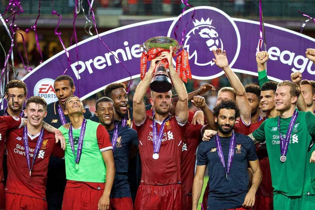 ویدئوی کامل مراسم اهدای جام و جشن قهرمانی لیورپول در لیگ برتر انگلستان